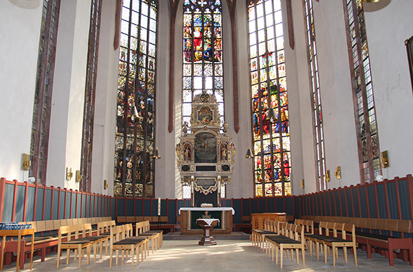 Chorraum der St.-Johanniskirche