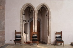 Eingang in die Sakristei
