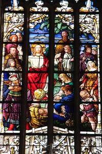 Kirchenfenster der St. Johanniskirche Ansbach