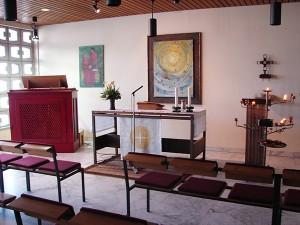 Kapelle im Krankenhaus