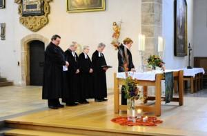 Verabschiedung von Pfarrer Walter Steinmaier in den Ruhestand