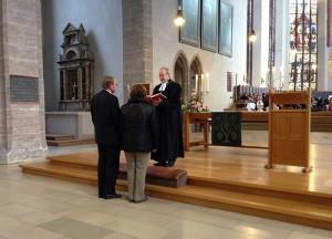 Festgottesdienst mit Entpflichtung in St. Johannis am 1. November 2013