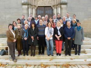 die Kirchenvorsteherinnen und Kirchenvorsteher der beiden evangelischen Innenstadtkirchengemeinden St. Gumbertus und St. Johannis