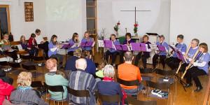 25jähriges Jubiläum des Flötenkreises in Hennenbach
