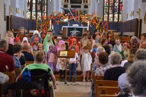 """Kindermusical """"Gerempel im Tempel"""" in der St. Johannis"""