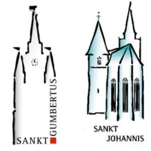 Die Ansbacher Innenstadtkirchen St. Gumbertus und St. Johannis