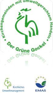 """Umweltmanagementsystem """"Grüner Gockel"""" in St. Gumbertus und St. Johannis"""