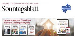 Sonntagsblatt Aktion