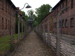 das Vernichtungslager Auschwitz, Foto: Hans-Martin Goede