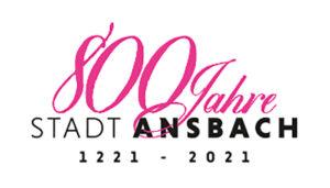 800 Jahre Stadt Ansbach Logo
